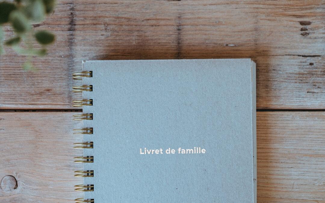 Divorce et livret de famille